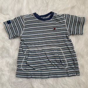 🎈BOGO🎈EUC Tommy Hilfiger striped shirt w/pocket